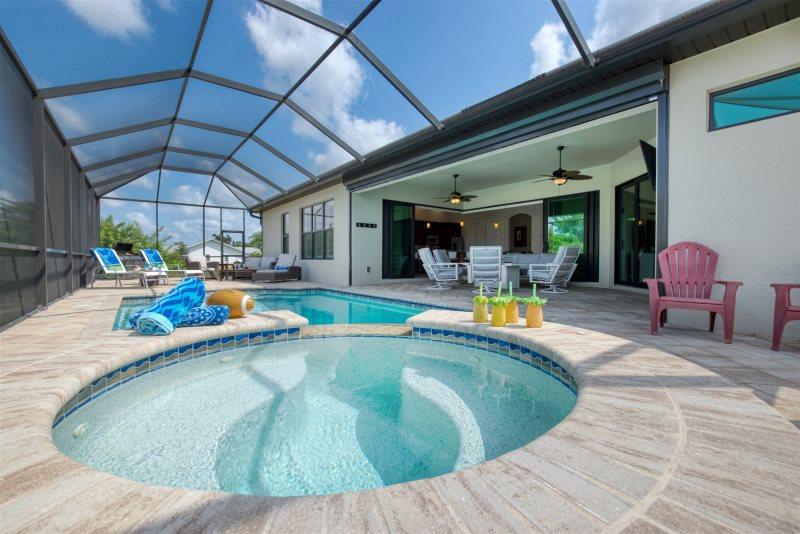 Villa Mit Boot Cape Coral